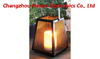 Outdoor New Design Solar Powered Metal Lantern-LED Garden Candle Decorative Lights