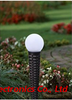 Solar Glass Pearl Bollard-LED Garden Decorative Lights Outdoor-Patio Light