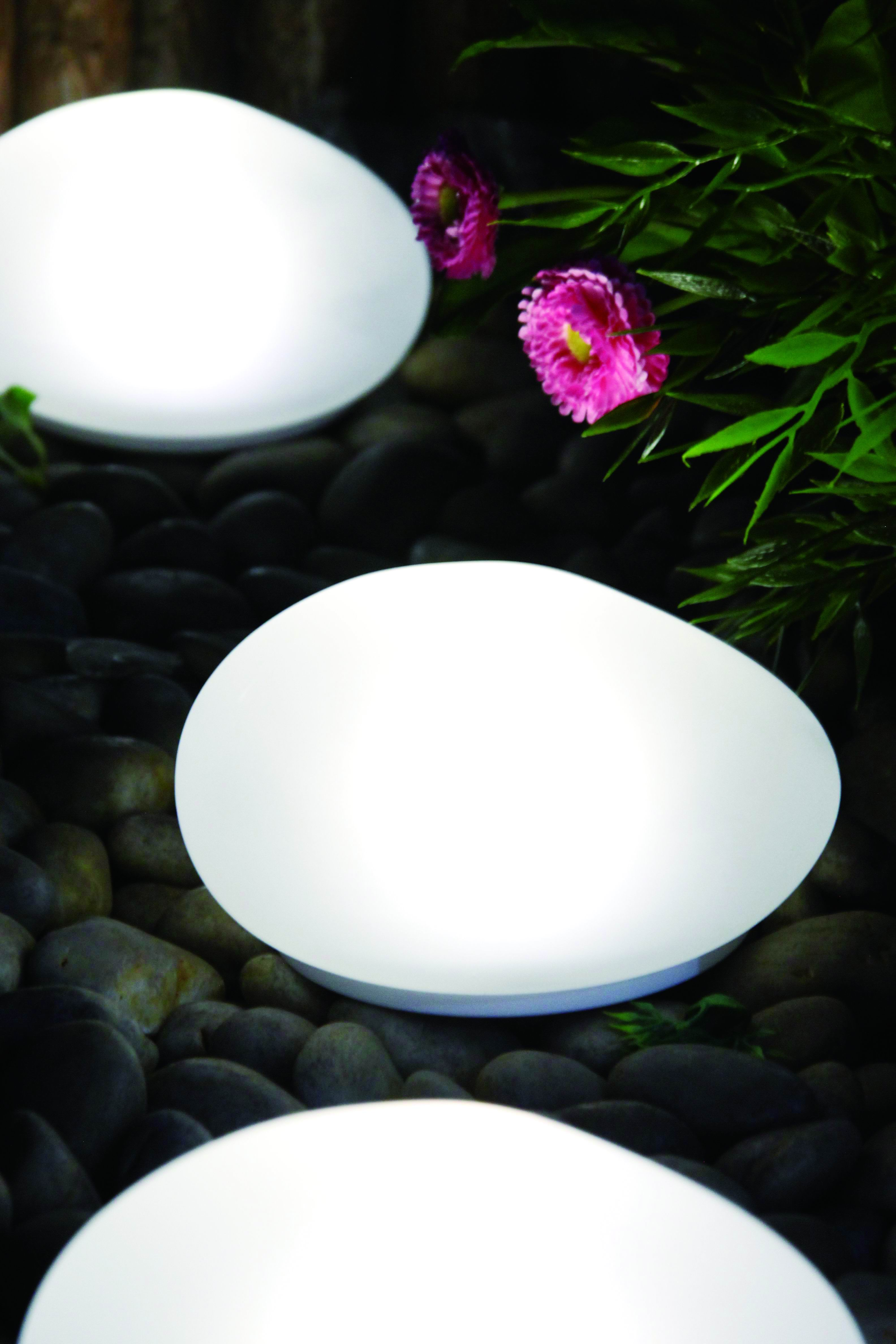 Solar LED Glass Stone Light ---LED Garden Decorative Lights Outdoor